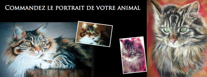 commander le portrait de votre animal