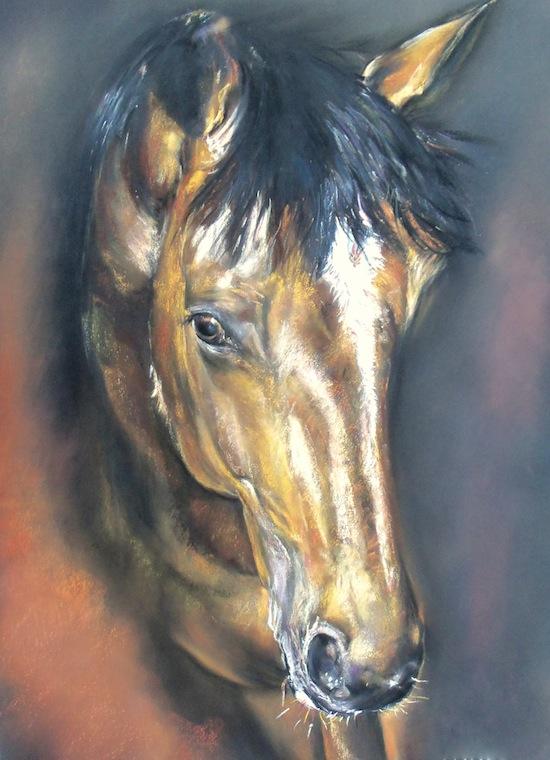 Grâce équine 75×95 Art spectrum