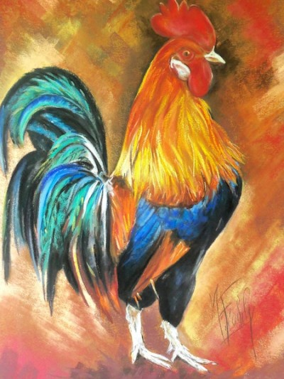 coq   Art spectrum  90×110