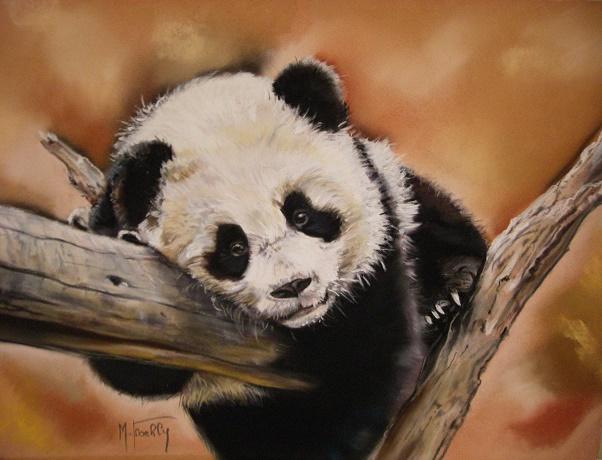panda pastel mat 50×40