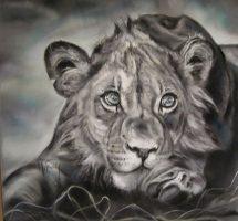 lionne pastel mat 80x80