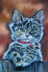Chat Clochette pastel 25x35 site