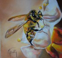 abeille pastel 25x25site