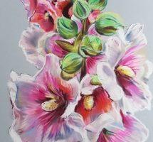 rose tremiere pastel 25x30.jpg1