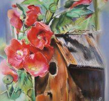la cage aux roses tremieres